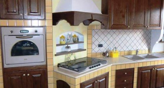 Realizzazione Cucine Finta MuraturaMessina